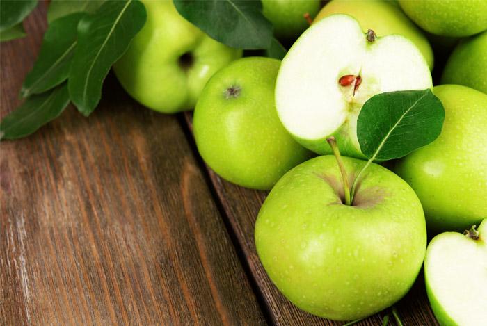 appels zijn hoog in vitamine-C