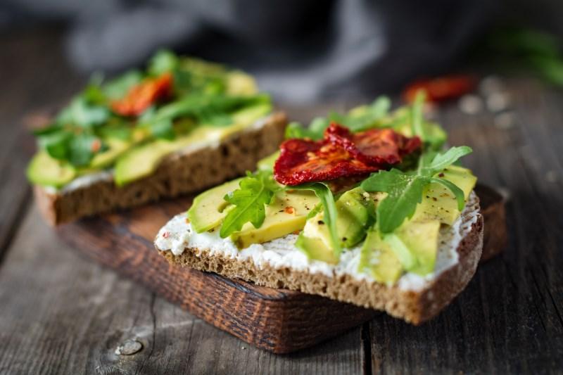 Avocado on Toast healthy breakfast