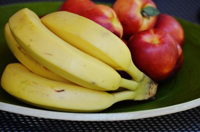Bananen Geweldige bron van vitamine C