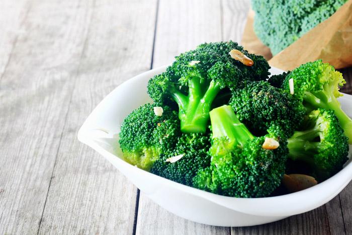 Broccoli is Rich in Fiber