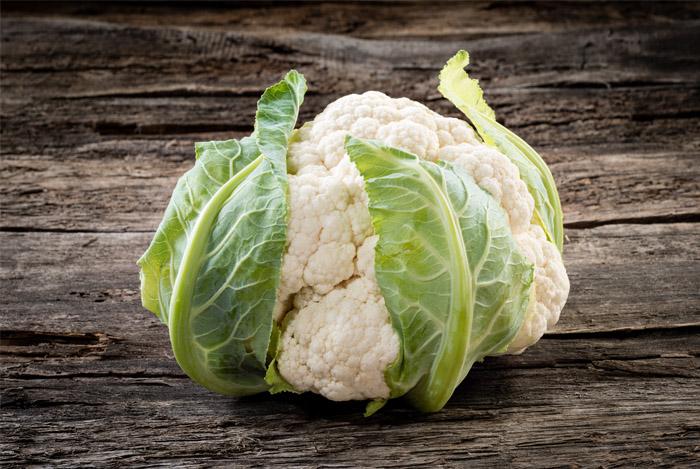 Cauliflower Contains Antioxidant Power