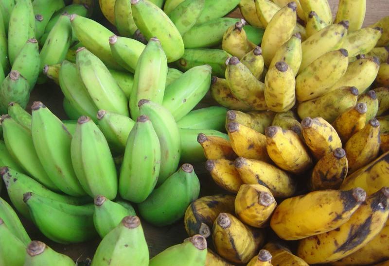 Bananen koken