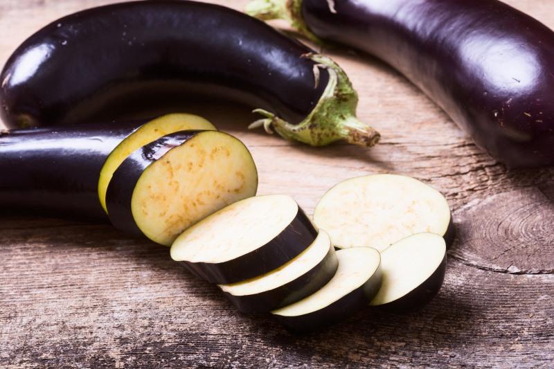 Eggplant and Hair