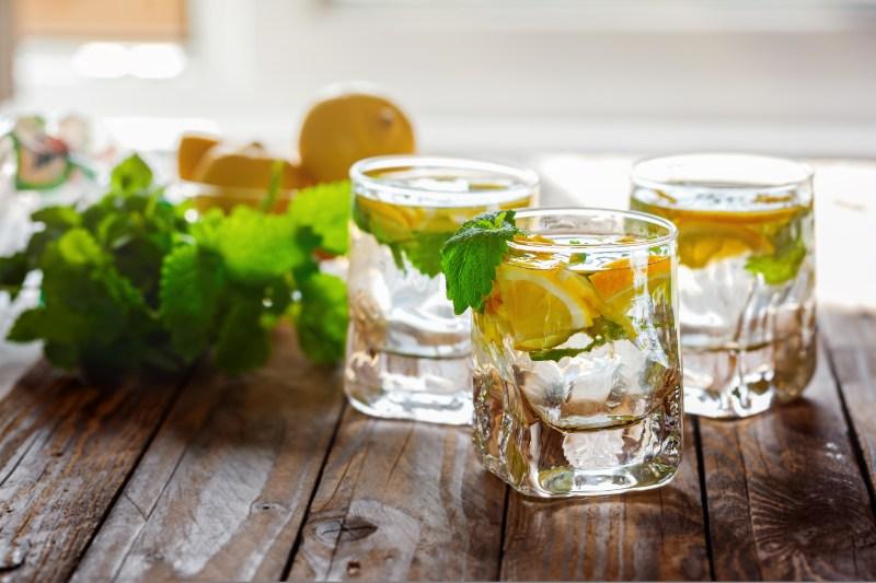 Lemon Water Improves Digestion