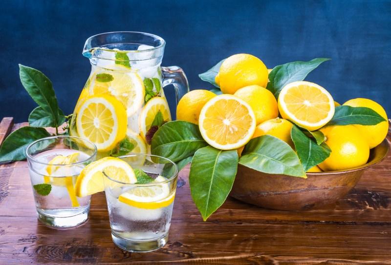 Lemon Water Is a Good Source of Vitamin C