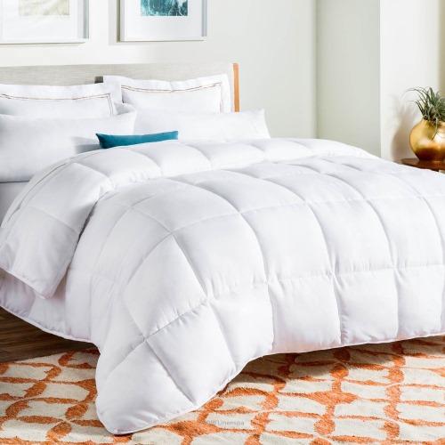 Linenspa Queen Comforter With Duvet Tabs