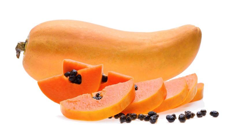Papaya Protects skin from sun damage