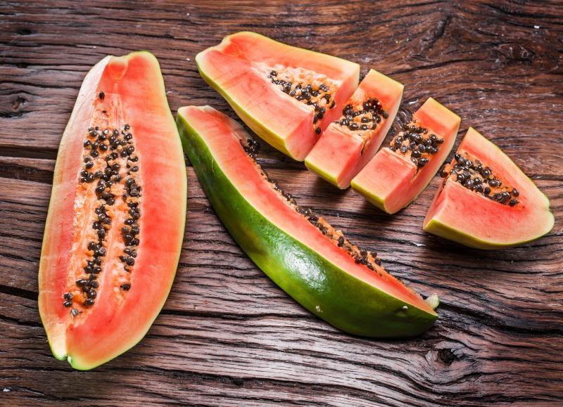 Papaya Treats Certain Types of Anemia