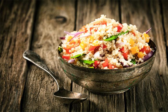Quinoa Bevat De Plantencompounds Quercetine En Kaempferol