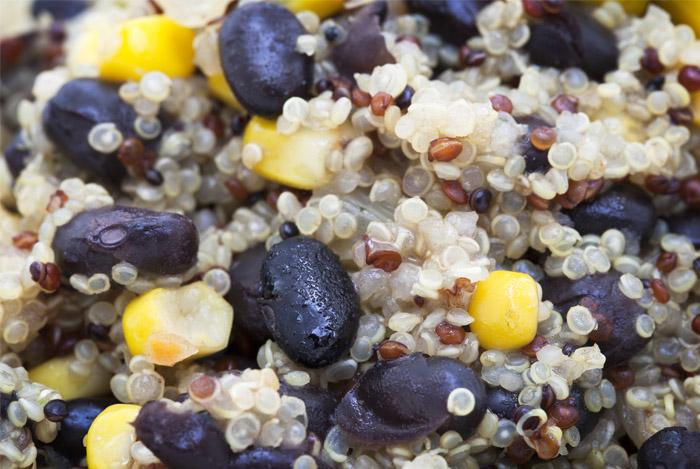 Quinoa verbetert de spijsvertering