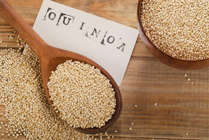 Quinoa verbetert de gezondheid van het hart