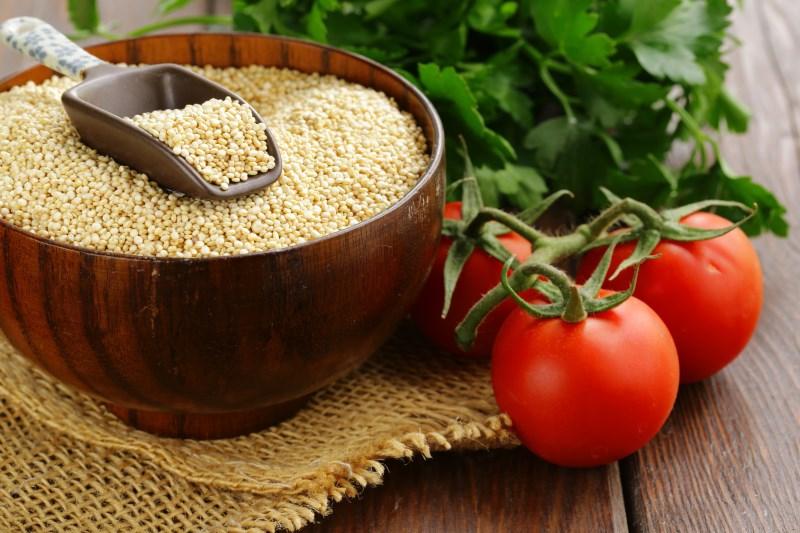 Quinoa is een complete proteïne