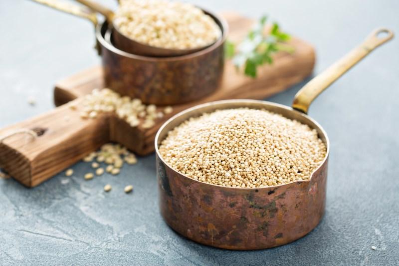 Quinoa is rijk aan magnesium