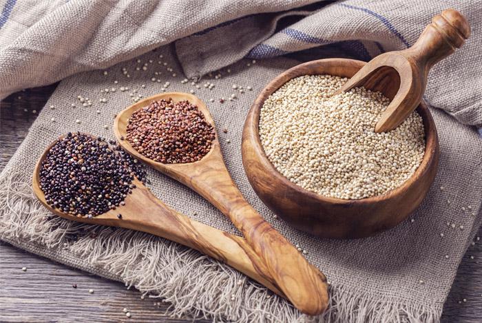 Quinoa is rijk aan zink