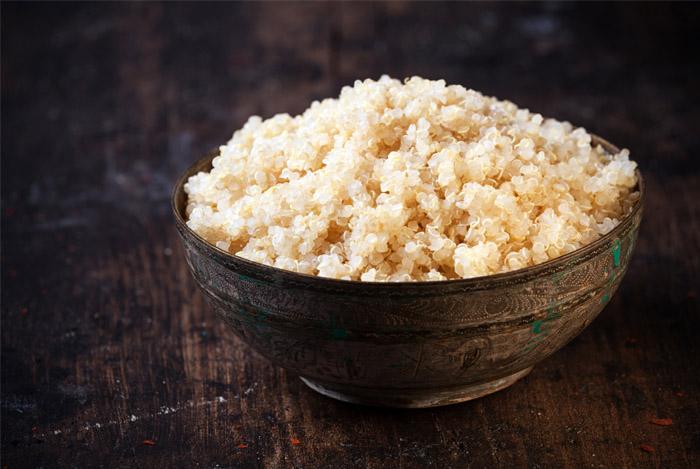 Quinoa is rijker aan vezels dan de meeste granen