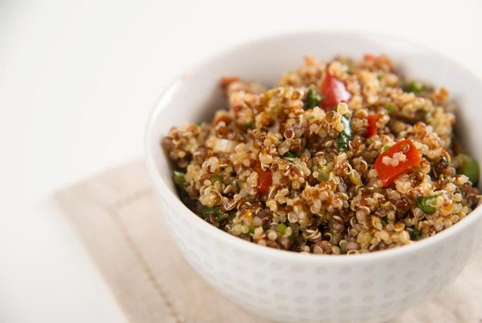 Quinoa is erg hoog in antioxidanten