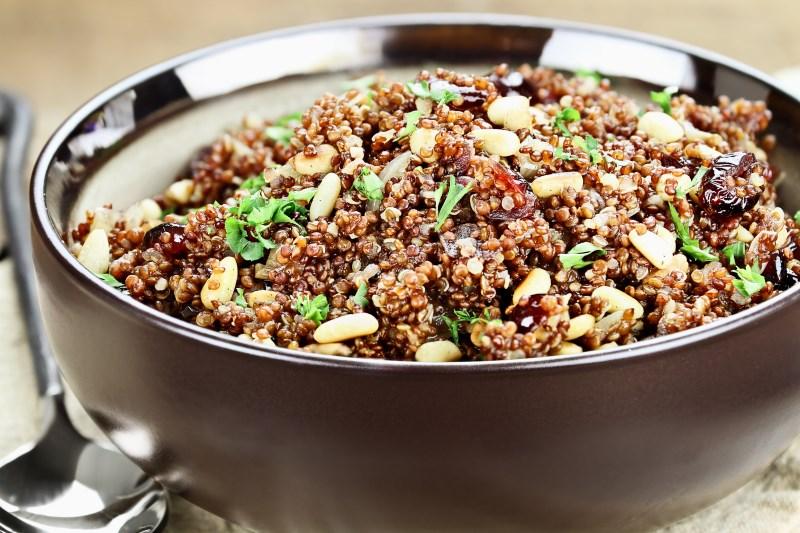 Quinoa Promotes Longevity