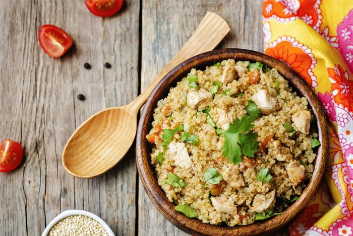 Quinoa beschermt de lever