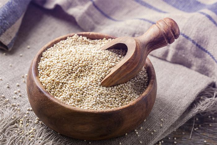 Quinoa ondersteunt gewichtsverlies