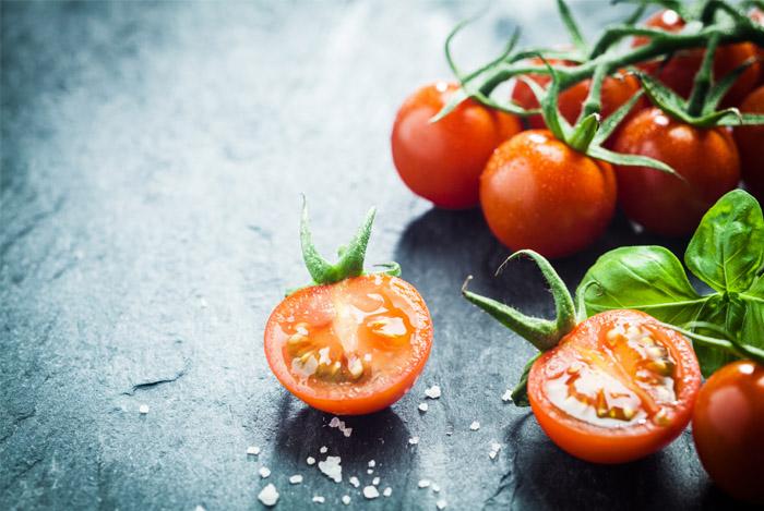 tomaten en bloed-druk