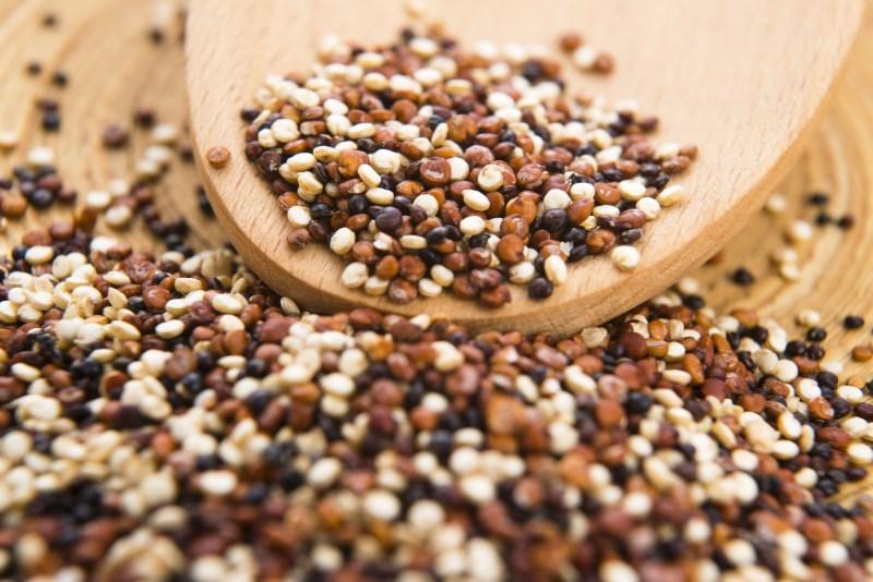 Je moet waarschijnlijk je Quinoa spoelen