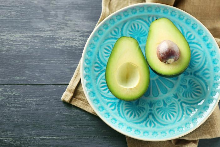 avocado-on-plate