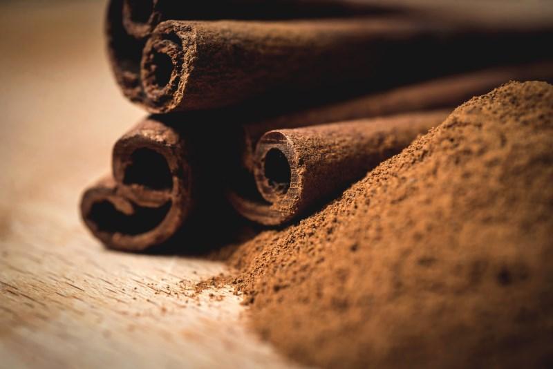 cinnamon Fight free radicals with antioxidants