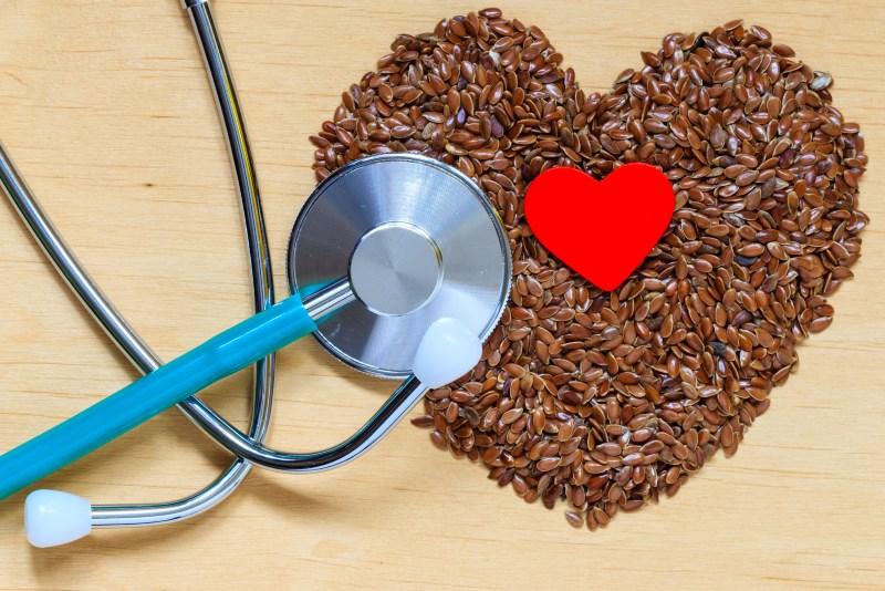 flax seeds help with Heart Health