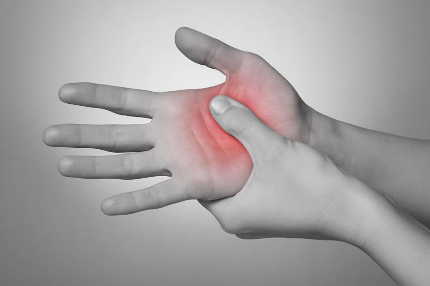 hand palm massage