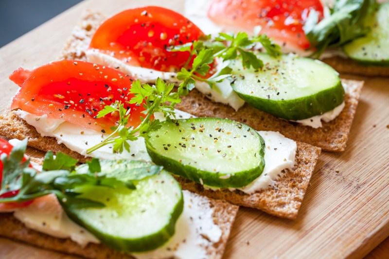 healthy breajfast sandwiches