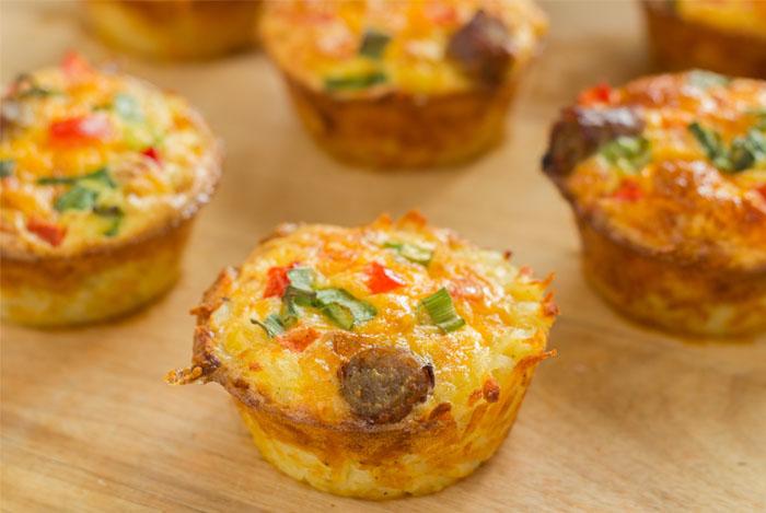 healthy breakfast vegatable bites - 17 EENVOUDIGE, GEZONDE ONTBIJTIDEEËN EN RECEPTEN
