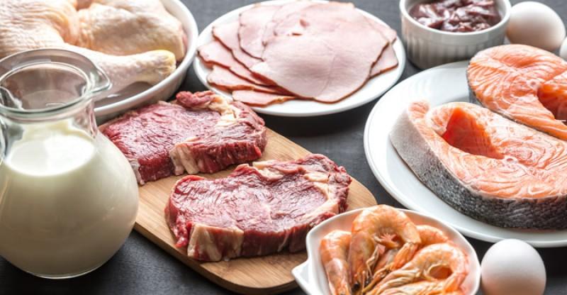 high protein foods 800x416 - 25 EIWITRIJKE NATUURLIJKE VOEDINGSMIDDELEN