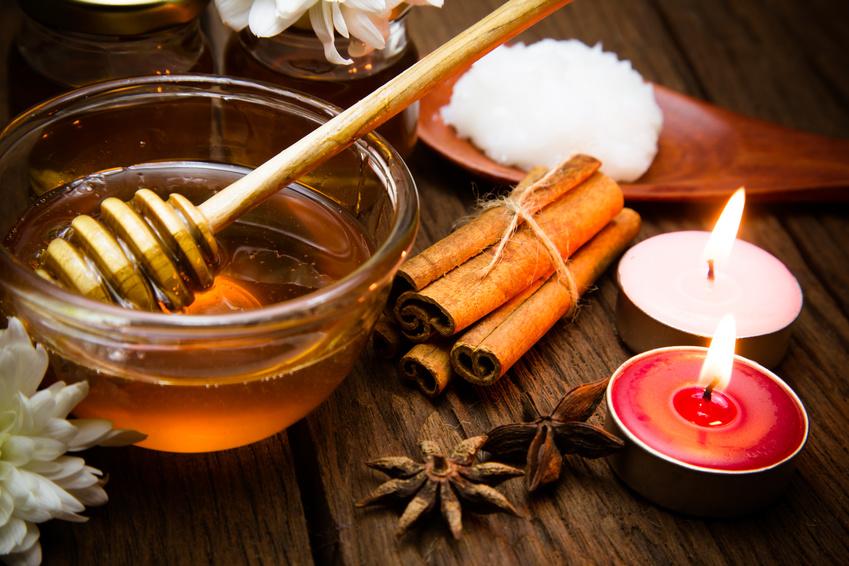 honing als reliëf van herpes