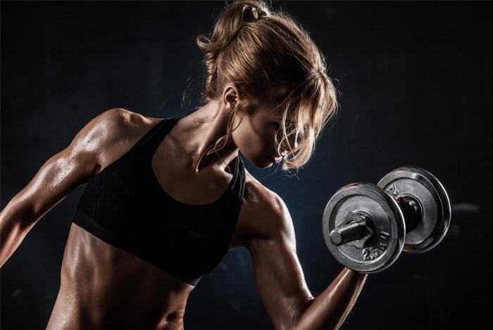 no-fat-muscle-woman-workout