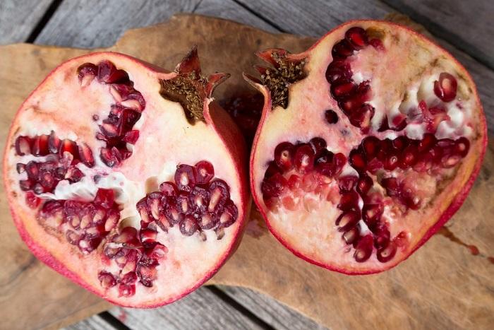 pomegranate-half