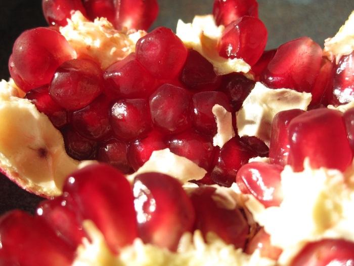 pomegranate-open