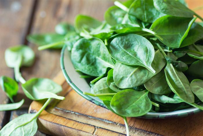 spinach for bone health